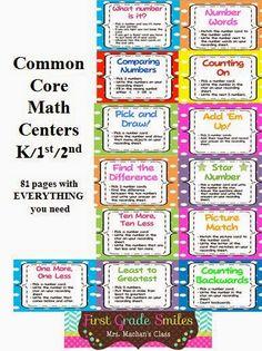MRS. MCFADDEN'S CLASSROOM BLOG: Math Workshop