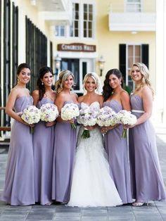 Cheap Light Purple Sweet Heart Long Bridesmaid Dresses  d0cadf05c