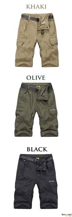 US$29.97 + Free Shipping. Mens Shorts, Men's Pants, Men's Trousers, Waterproof Pants, Quick Drying Pants, Breathable Casual Shorts. Color: Khaki, Olive, Black. Comfortable & Stylish!