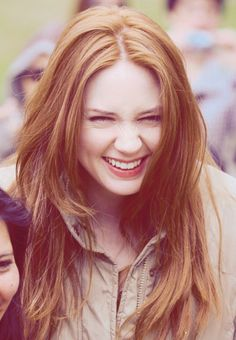 Karen Gillan.  She is just the cutest thing.