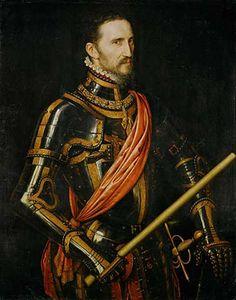 Antonis Mor, Fernando Álvarez de Toledo, 3rd Duke of Alba (1507-1582), 1560? (Berlin, Gemäldegalerie)