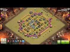 Clash of Clans TH8 vs TH8 Dragon & Balloon (Dragloon) Clan War 3 Star Attack ⋆ Clash of Clans 3 Stars Clan Wars