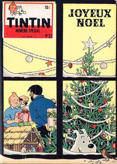 Le Journal de Tintin - Edition Belge - N° 639 - 1958-51 - Mercredi 17 Décembre 1958 - Couverture : Hergé