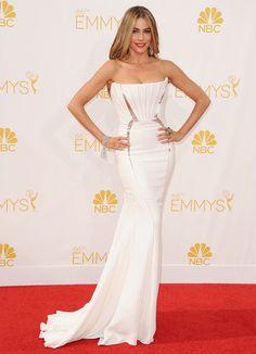 Sofia Vergara in Roberto Cavalli at the 2014 Emmy Awards #famosas #alfombraroja