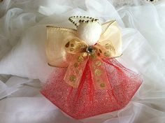 Angel Christmas Ornaments / Christmas Ornament by creationsbyliany