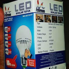 Lampu Tepuk 10 W = 50 W Check Pict for spesificating ! Grab it fast !!! Line : ilhamdhan Bbm : 763583264  #lampu #tepuke #lamp #lamps #instagram #instagood #sell #reseller #LED #10 #15 #watt #indonesia #onlineshop #olshop #olshopjakarta #instadaily #instadaily #iphone #samsung #japan #technology #techno #instagood #lighter #kelvin # lumens #terang #barangmurah #murahmeriah #hmgadget #accessories by hmgadget
