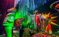 Wayne Coyne of The Flaming Lips performs at The Fillmore on in Detroit, Michigan Wayne Coyne, Detroit Michigan, Nice Things, That Look, Lips, Colour, History, Painting, Color