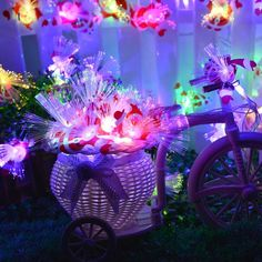 60 LED Multi-color Santa Claus Pendant Fiber Optic String Light Christmas Party Lights, with Tail Plug, Used for Party, Room, Home, Wedding, Easter Decoration Christmas String Lights, Christmas Decorations, Table Decorations, Party Lights, Fiber Optic, Night Light, Merry Christmas, Santa, Discount Deals