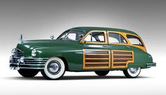 Woody Wagon | One-of-none step-down Hudson woodie station wagon to cross the block ...