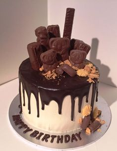 Cake Decoration With Chocolate Syrup : 1000+ ideas about Caramel Mud Cake on Pinterest Mud Cake ...