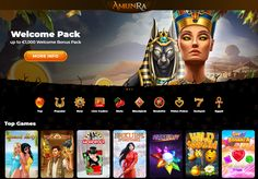 AmunRa is an Egypt-mystery casino that perates under the MGA and offers unique features! Players enjoy a multi-currency account wallet, responsive design and accessibility from various devices! But what really makes AmunRa stand out is its state-of-the-art unbuilt gamification which allows users to unlock ancient Gods and reap massive rewards while going up on 15 Ra-Levels! The adventure begins with a hefty Bonus Pack of up to €1,000 on the first 4 deposits and continues with regular… And So The Adventure Begins, Poker, Egypt, Mystery, Wallet, Unique, Design, Art, Pocket Wallet