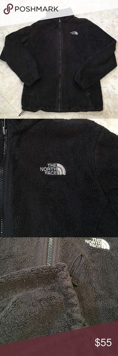 Women's large NORTH FACE This jacket is well loved. Has been worn and washed. Piling. But lots of life left. Zipper works. Women's size large. Please ask any other questions prior to purchase. The North Face Jackets & Coats
