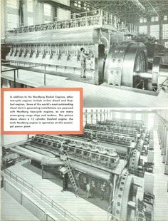 A booklet on Nordberg diesel engines with Woodward Governor Controls at the heart of the system.