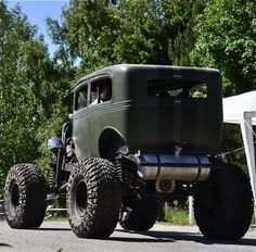 High ride rat rod.