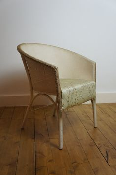 Vintage 1950's Sirrom Loom Arm Chair by by TheLotAntiquesandArt