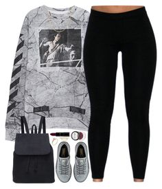 """Marble"" by oh-aurora ❤ liked on Polyvore featuring Off-White, Puma, Shay, Ross-Simons and Fremada"