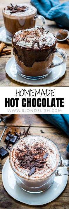 How to make homemade hot chocolate in just 10 minutes and make Santa happy this year.