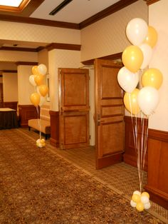 click pin for balloon decoration party ideas and easy do it yourself balloon kits.
