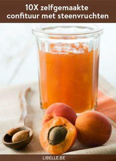 Nu kun je volop genieten van steenvruchten als abrikozen en kersen. Hoogtijd dus om je mandje te vullen met dit sappig fruit en er confituur van te maken.