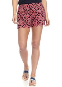 Crown  Ivy   Scallop Shorts