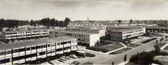 Veghel de Leest flats en drive-in woningen1970