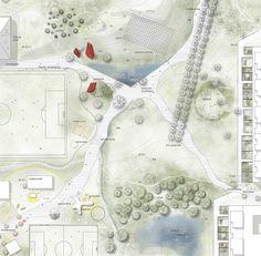 Affordable Landscaping Near Me Refferal: 4394252200 Landscape Architecture Design, Landscape Plans, Architecture Drawings, Masterplan Architecture, Tree Plan, Color Plan, Plan Drawing, Site Plans, Landscape Drawings
