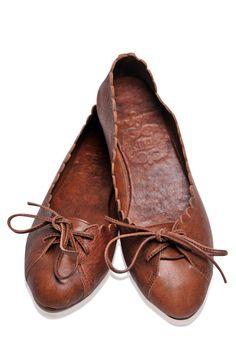 361b8b111e4 Endless love Loafers. Brown Leather ShoesBrown FlatsBrown ...