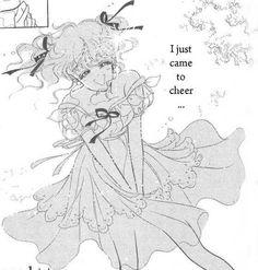 "Art from ""July Marmalade Boy"" (""Miss Rain"" collection) by manga artist & ""Sailor Moon"" creator Naoko Takeuchi."