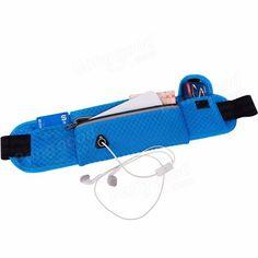 MAIYE Running Bag Sports Waist Bag Breathable Mesh Running Belt Pouch for Smartphone under 6 inch Sale - Banggood Mobile