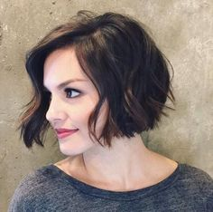 Cute but Charming Short Curly Bob   Hairstyles Trending