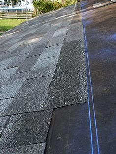 Roof leak repair tips roof leak repair roof leak and asphalt shingles do it yourself roofing asphalt roof shingle installation with straight and uniform rows solutioingenieria Images