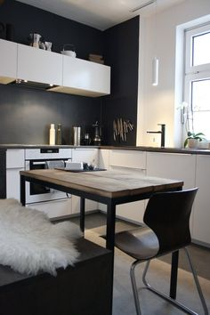 wei e modulk che wei e fronten anthrazit wandfarbe our new home interior pinterest. Black Bedroom Furniture Sets. Home Design Ideas