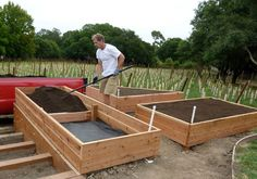 raised bed vegetable garden plans weed picture