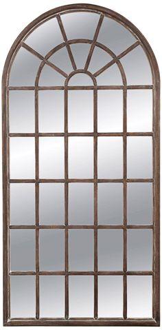 Bassett Mirror Company 7F845 Bassett Mirror Belgian Modern Berwyn Leaner Mirror