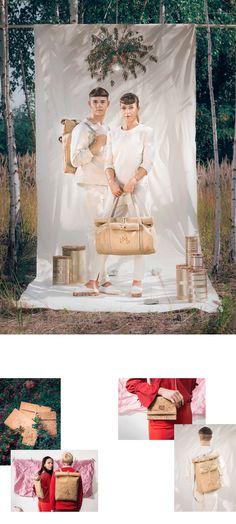 MEGALOMANIA – Looks - Die Sack & Pack Kollektion interpretiert das durch die schädlichen Plastiktüten weit verbreitete Thema, wie wir unsere alltäglichen Dinge transportieren, neu beziehungsweise alt. Wir besinnen uns zurück auf eine ursprüngliche Art des Transports unseres Hab und Guts.   #eco #fair #limited #upcycling Helping People, Table Decorations, Wedding Dresses, Happy, Collection, Repurpose, Bride Dresses, Bridal Gowns, Weeding Dresses