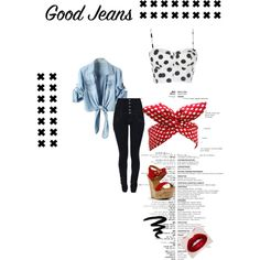 """Good Jeans"" Rockabilly Style."