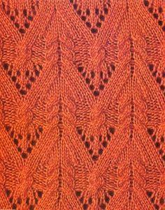 Beautiful knitted patterns