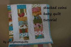 Moda Bake Shop: Stacked Coins Baby Quilt