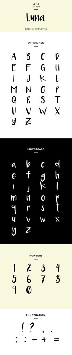 luna font family download free (Favorite Fonts)