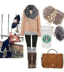 winter tumblr outfits - Google Search