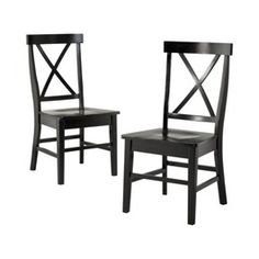 Black dining chairs for dining room