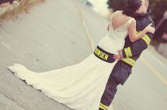 Firefighter Wedding -- new last name <3  Photo Courtesy: Sarah Marble Photography
