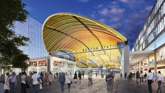 Grimshaw Reveal Vision for a High-Speed Concourse at London's Euston Station