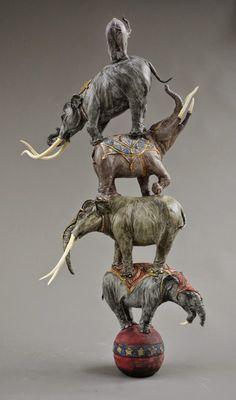 'Prehistoric Elephants' Ariel Bowman (structure)