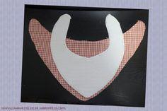 Patrón de bandana – babero para bebé