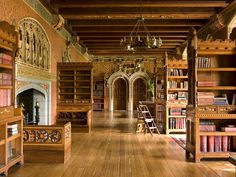 Take a 360 degree wander through Cardiff Castle Library, Wales. Cardiff Castle was once the home of the world's richest family, the Butes..