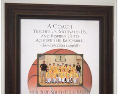 Basketball Team Gift for Coach Wedding Gifts For Parents, Wedding Day Gifts, Bride Gifts, Gifts For Father, Anniversary Party Decorations, 50th Anniversary Gifts, Parents Anniversary, Photo Frame Design, Personalized Picture Frames