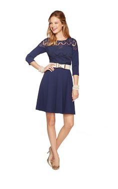 Remmy Dress - Another navy dress option for bridesmaids