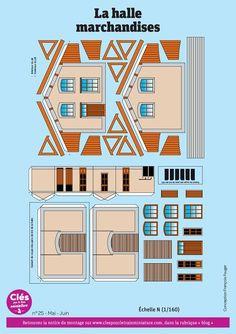 Imprimibles Toy Story Gratis, Train Miniature, Ho Scale Buildings, Paper Houses, Jumping Jacks, 3d Paper, Paper Models, Cross Stitch Patterns, Trains