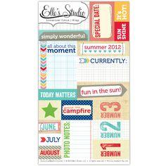 Summer Lovin' Cutouts - 18 tags :: Summer Lovin' :: By Collection :: Elle's Studio Tags :: Elle's Studio